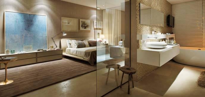 quarto-com-suite-marrom