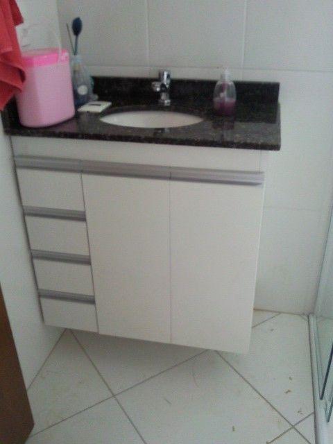 Gabinete para Banheiro Pequeno Modelos e Estilos – Decoração de Casa -> Gabinete Para Banheiro Pequeno Telhanorte