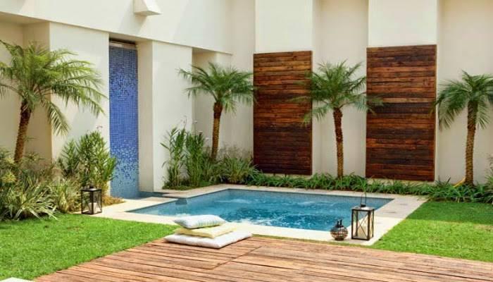 37 reas de lazer pequenas incr veis decora o de casa for Ver modelos de piscinas
