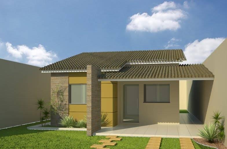 Casas com alpendre lindas varandas ao redor decora o for Ver jardines de casas pequenas