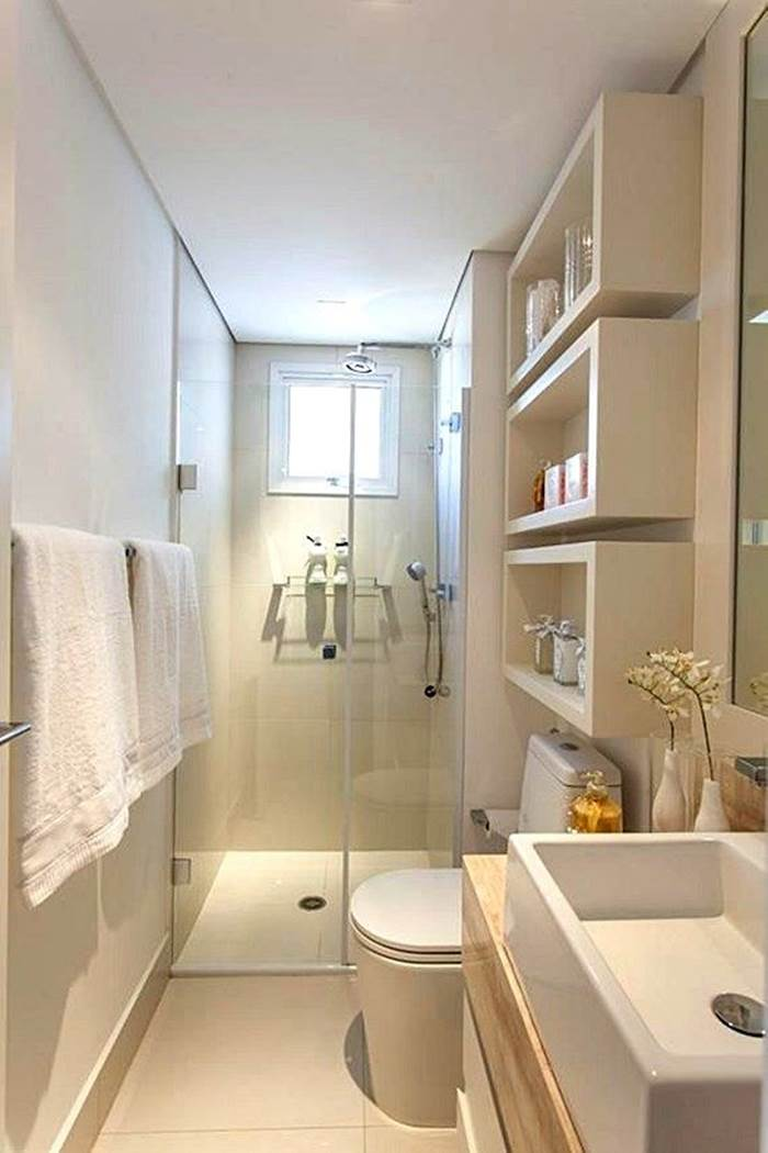 Banheiros brancos : Se inspire com 30 modelos! – Decoração de Casa #2A2116 1366x956 Armario Banheiro Branco