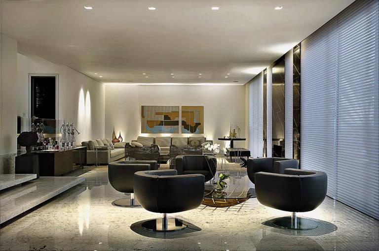 Sala moderna 11 decora o de casa for Casa moderna 11