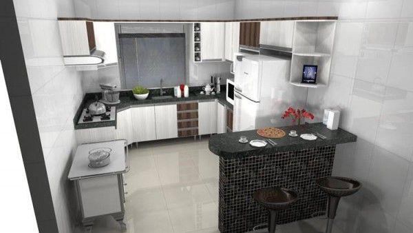 Cozinhas Moduladas: Completas, Pequenas e Mais!