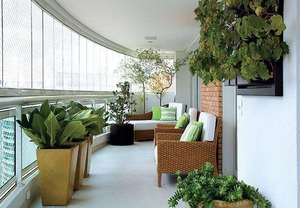 29 varandas fechadas e decoradas dicas especiais for Casa jardin buffet
