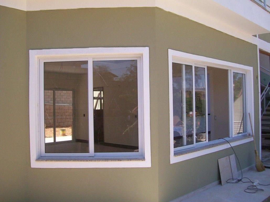 #846647 35 Modelos e Tipos de Janelas: Inspire se! – Decoração de Casa 1642 Janela De Aluminio Lavanderia