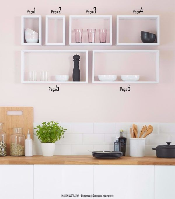 Nichos para Cozinha: +50 Ideias de Como Utilizar!