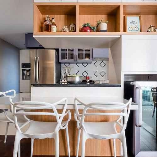 Cozinha Americana Pequena 58 Modelos Acessíveis Decoração De Casa