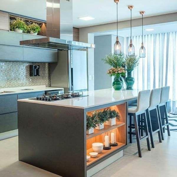 34 Cozinhas com Ilha Totalmente Deslumbrantes!