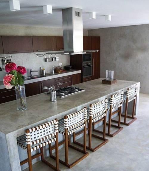 Cozinha gourmet 40 projetos elegantes decora o de casa for Casa classica tile