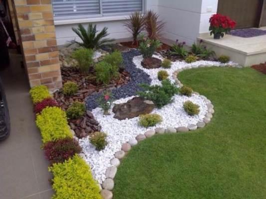 Jardim com Pedras – 46 Decorações para Se Inspirar!