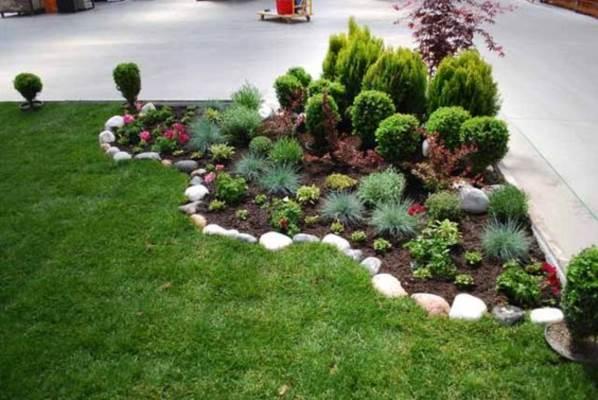 Jardim Com Pedras 46 Decorações Para Se Inspirar