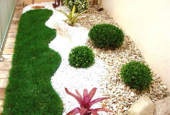 Jardim Com Pedras 46 Decorações Para Se Inspirar Decoração De Casa