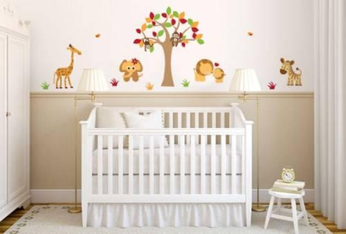 42 Adesivos para Quarto de Bebê para se Apaixonar!