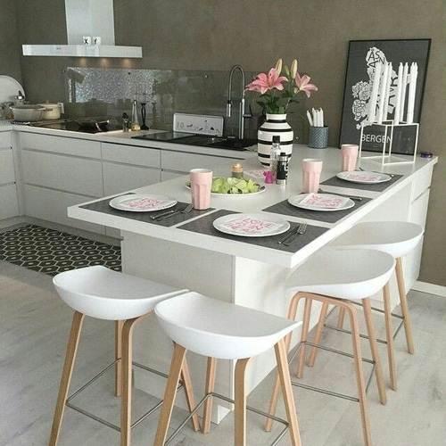 32 Banquetas para Cozinha – Modelos Altos e Baixos!