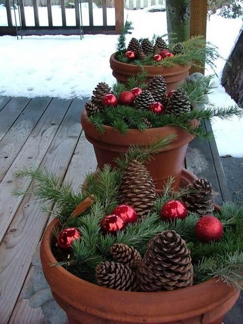 Decoração de Natal para Jardim com 43 Ideias Fáceis!