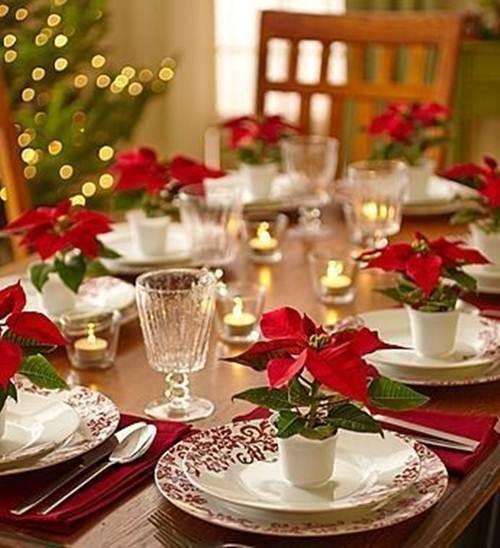 Decoração de Mesa de Natal com 41 Inspirações Fascinantes!