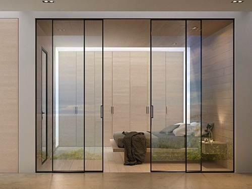 Porta de correr para sala 49 tipos super estilosos for Puertas de vidrio corredizas para exteriores