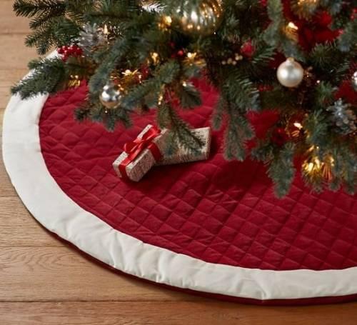 42 Modelos de Saia para Árvore de Natal Encantadores!