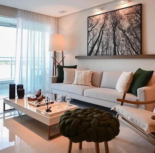 89d3f1f09 44 Salas de TV Decoradas com Capricho! – Decoração de Casa
