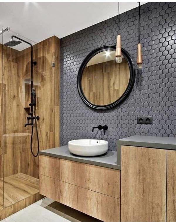 53 Pastilhas para Banheiro que Deixam a Decoração Moderna e Sofisticada!