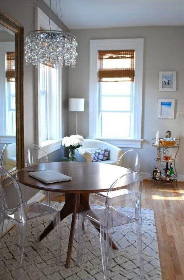 Sala de Jantar Pequena: 41 Projetos com Decoração Harmoniosa!