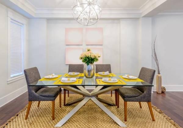 47 Tapetes para Sala de Jantar que Dão um show de Modernidade e  Sofisticação — Decorações