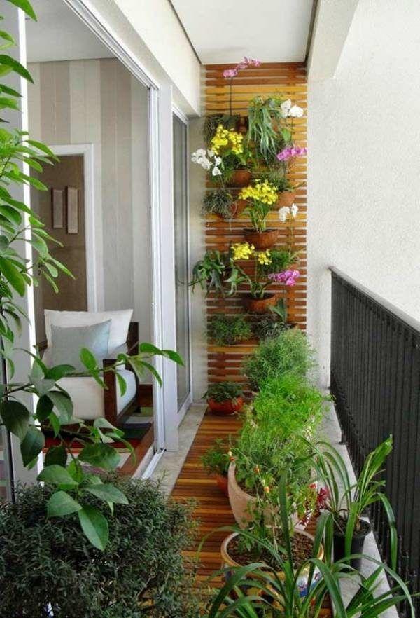 50 Varandas com Plantas com Decorações Inspiradoras para Casa e Apartamento!