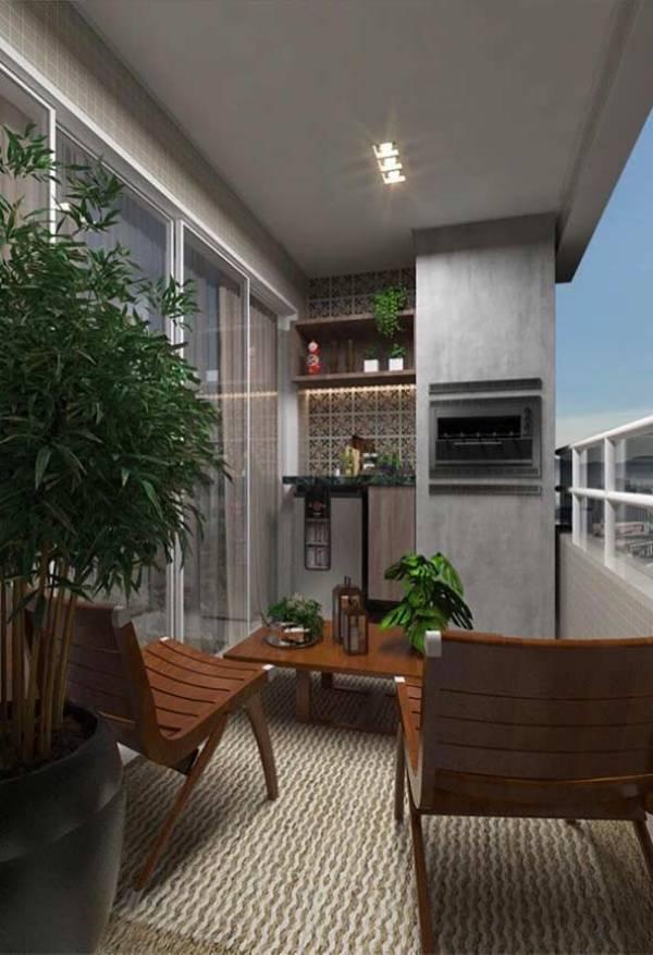 50 Varandas com Plantas com Decorações Inspiradoras para Casa e Apartamento! u2014 Decoraç u00e3o de Casa -> Decoração De Varanda Com Vasos De Plantas